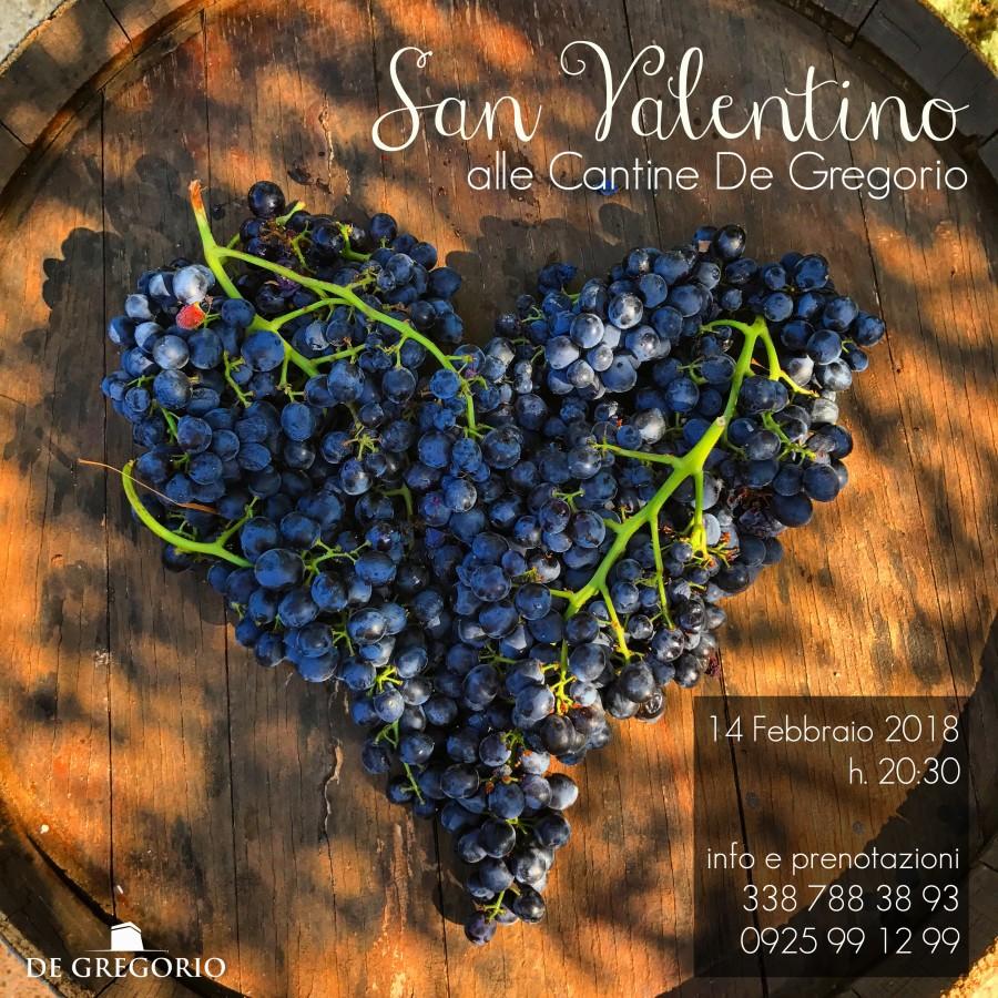 San Valentino alle Cantine De Gregorio