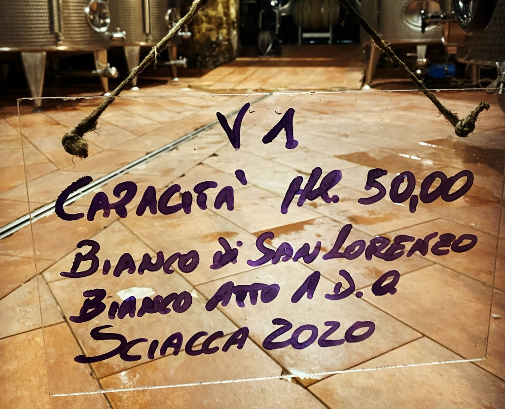 Anche il Bianco di San Lorenzo riporterà la DOC Sciacca in etichetta