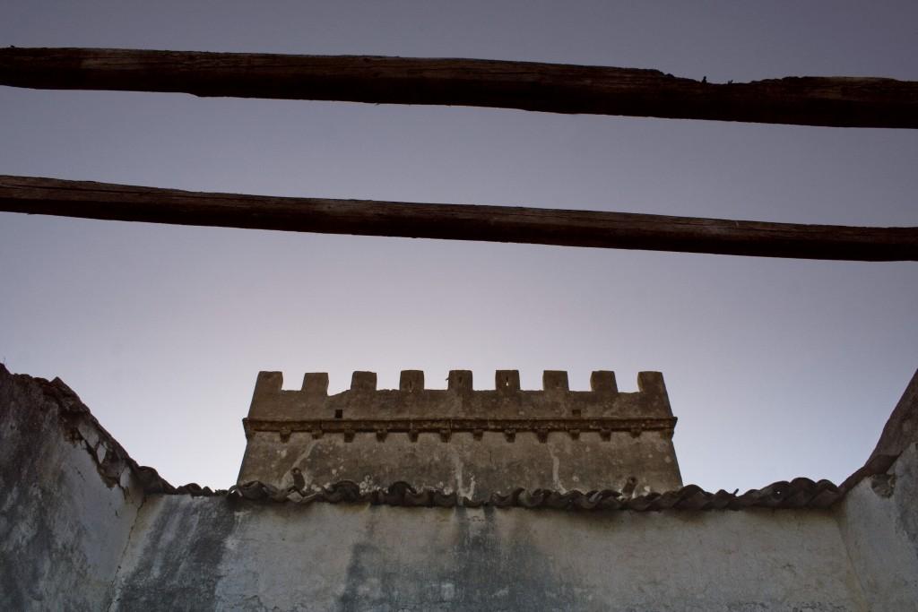 Torre vista dal basso